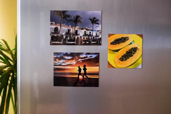 7 nápadů pro foto magnetky na lednici. Vyrobte si je za pár minut