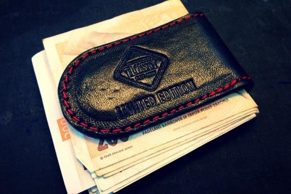 Kožená spona z magnetem – Brašnářství Tlustý