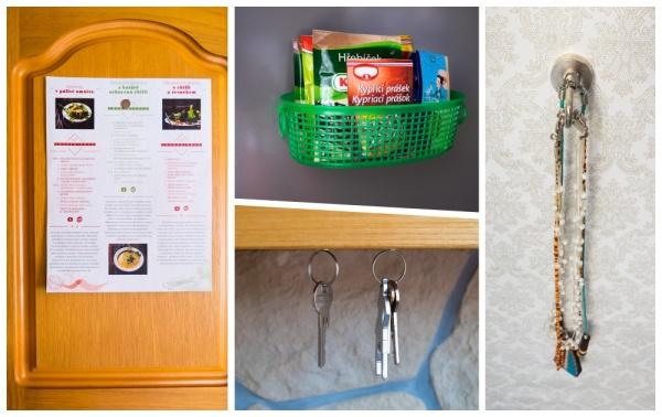 5 nápadů, jak využít silné neodymové magnety doma v kuchyni, předsíni i koupelně