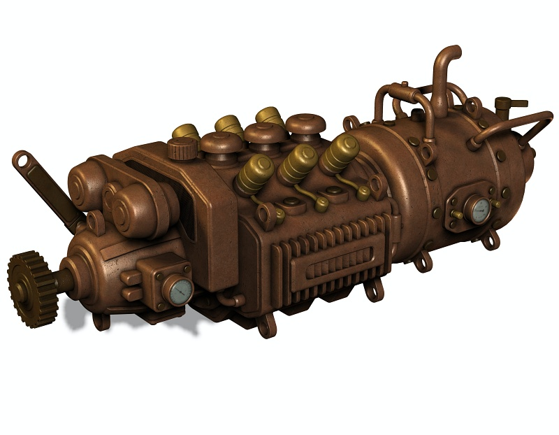 Starý motor.