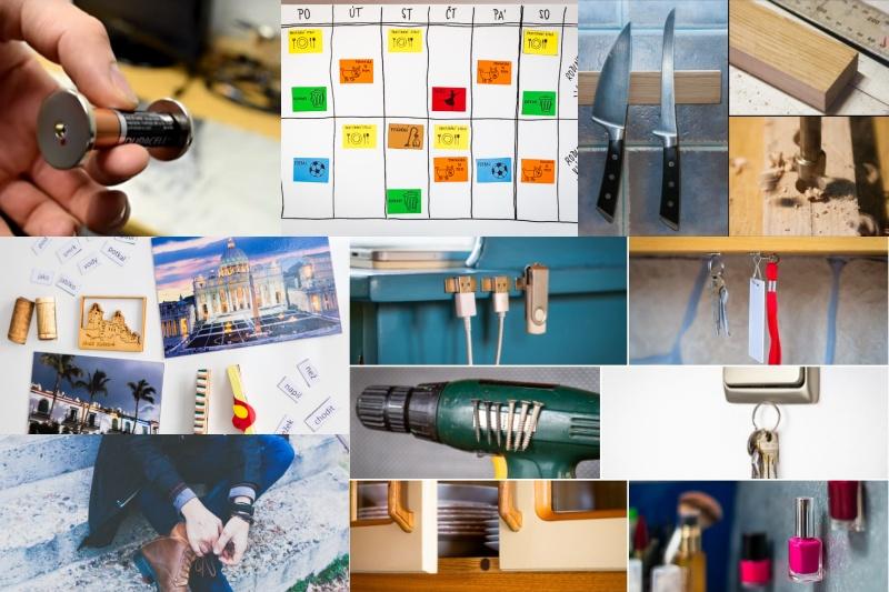 20 nejoblíbenějších magnetických zlepšováků a vychytávek