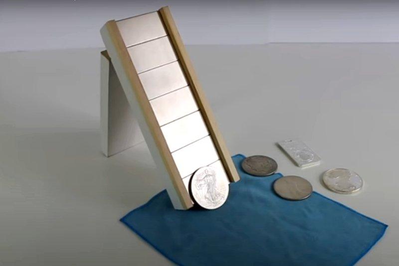 Sbíráte mince? Vyrobte si magnetický tester stříbrných mincí