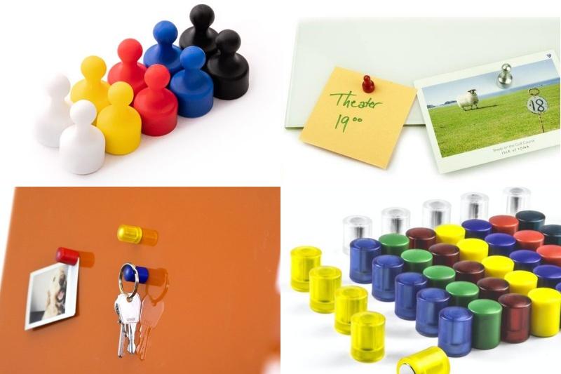 Kancelářské magnety – k čemu se hodí v kanceláři i doma?
