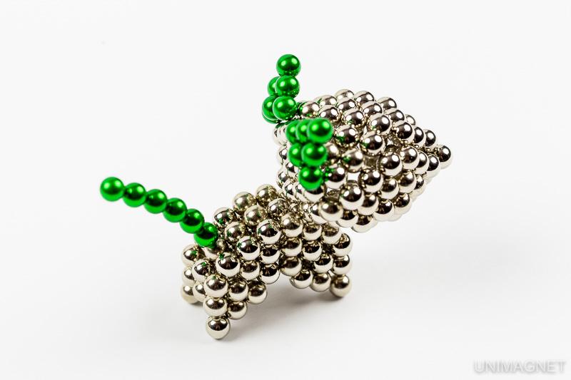 Jak sestavit magnetickou kočku.