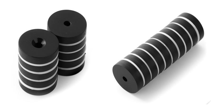 Vodotěsný neodymový magnet v plastu.