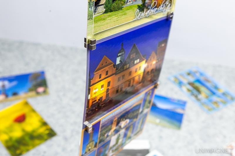 Jak zavěsit pohlednice, tisky, prezentační materiály? Zkuste to pomocí magnetů – Magnety v POS 8