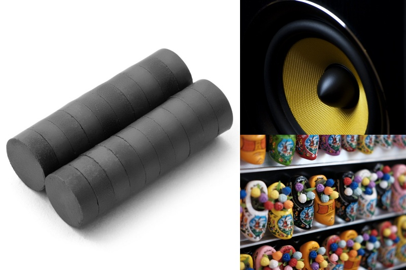Jaké jsou výhody feritových magnetů a pro jaké účely se hodí?