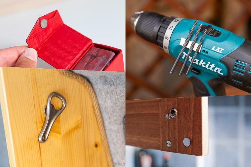 Samolepicí magnety přilepíte během chvilky. Pro jaká použití se hodí?