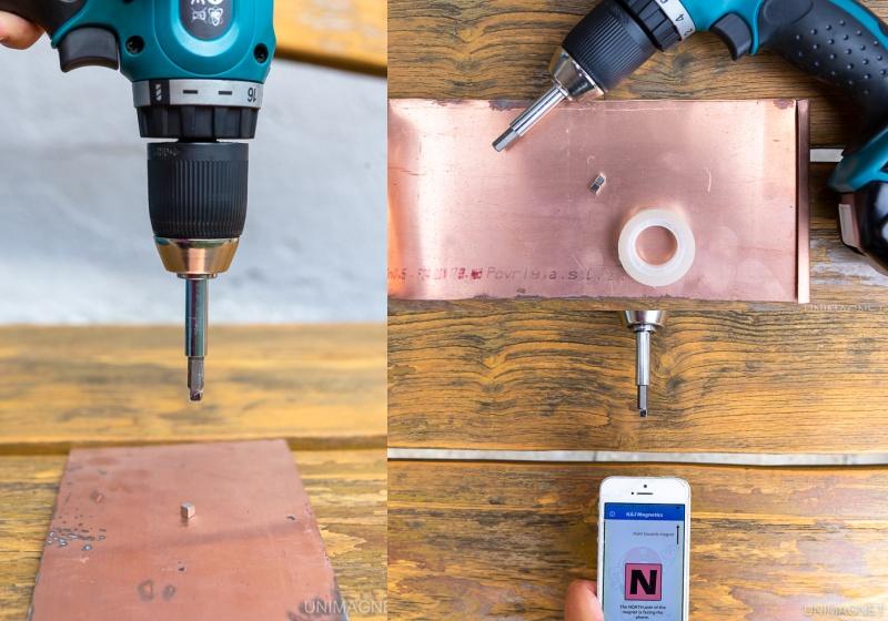Magnetický pokus: Jak roztočit magnet, aby levitoval ve vzduchu