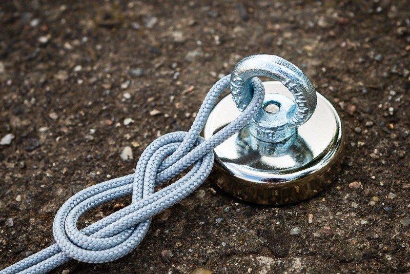 Magnet pro lovce pokladů.