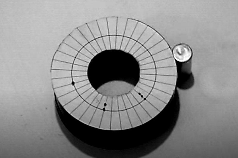 Radiální magnet.