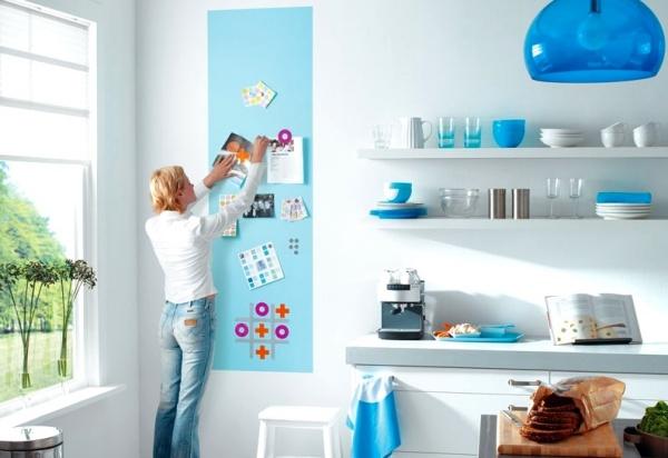 Magnetická barva – Proměňte obyčejnou zeďna magnetickou tabuli