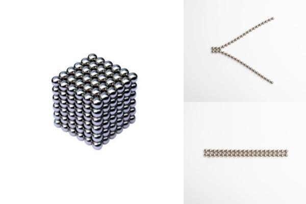 NeoCube – Je lepší magnetické kuličky skládat vedle sebe nebo střídavě?