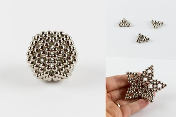 Návod: Jak složit magnetický hlavolam NeoCube do tvaru koule
