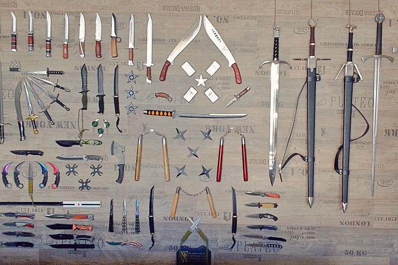 Tipy našich zákazníků: Magnetický držák nožů, mečů adýk vobchodě