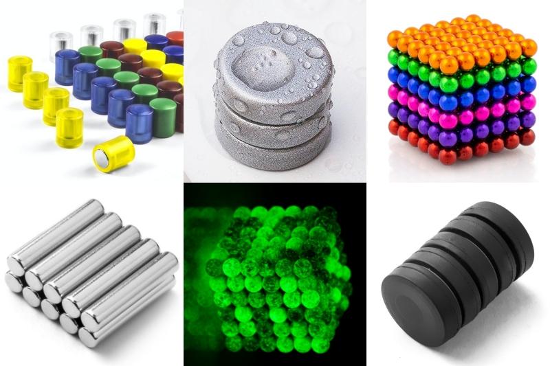 13 typů povrchových úprav aochranných vrstev magnetů. Které vybrat?
